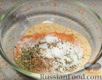 Фото приготовления рецепта: Картофель с корочкой, запечённый в духовке (в сухарях) - шаг №3