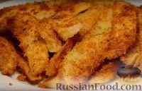 Фото приготовления рецепта: Картофель с корочкой, запечённый в духовке (в сухарях) - шаг №6