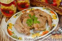 Фото к рецепту: Кролик, тушенный в вине
