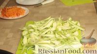 """Фото приготовления рецепта: Молодые кабачки за 10 минут (кабачковая """"лапша"""") - шаг №4"""