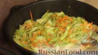 """Фото приготовления рецепта: Молодые кабачки за 10 минут (кабачковая """"лапша"""") - шаг №6"""