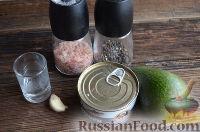Фото приготовления рецепта: Паста из авокадо и тунца, для бутербродов - шаг №1