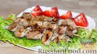 Фото к рецепту: Шашлык в маринаде с киви