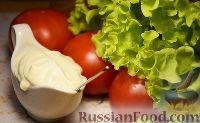 Фото к рецепту: Сметанная заправка для салатов (вместо майонеза)