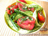 Фото к рецепту: Хрустящие малосольные овощи в пакете