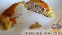 Фото приготовления рецепта: Гнезда из кабачка с фаршем - шаг №11