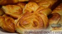 Фото к рецепту: Сахарные булочки из дрожжевого теста (5 способов формирования булочек)