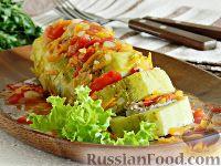 Фото к рецепту: Фаршированный кабачок