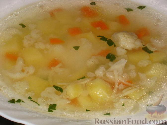 Суп с капустой и картошкой