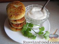 Фото к рецепту: Пирожки картофельные с мясом