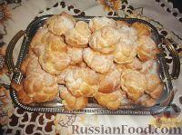 Рецепт эклеров с масляным кремом в домашних условиях фото