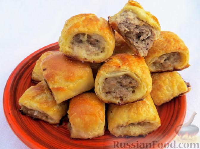 ленивые пирожки с курицей пошаговый рецепт
