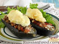 Фото к рецепту: Фаршированные баклажаны