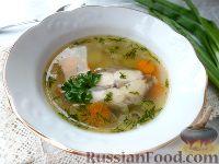 Фото к рецепту: Суп из свежей сельди с рисом