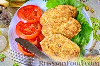 Фото приготовления рецепта: Картофельные котлеты в духовке - шаг №12