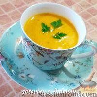 Фото к рецепту: Крем-суп из тыквы