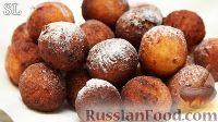 Фото к рецепту: Творожные пончики-шарики