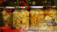 Фото к рецепту: Маринованные кабачки как грибы грузди (на зиму)