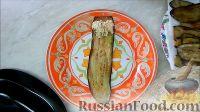Фото приготовления рецепта: Рулетики из баклажанов с творогом, сыром и орехами - шаг №9