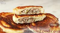 Мясные беляши на сковороде - рецепт пошаговый с фото