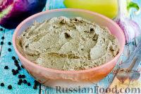 Фото к рецепту: Печеночный паштет с баклажанами