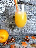 Фото к рецепту: Алкогольный коктейль с апельсиновым соком