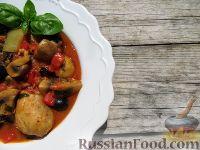 Фото к рецепту: Курица в итальянском стиле (в мультиварке)