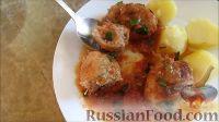 Фото приготовления рецепта: Ароматные фрикадельки в остром соусе - шаг №15