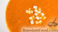 Фото к рецепту: Суп-пюре из запеченных помидоров