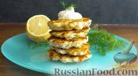 Фото к рецепту: Рубленые куриные котлеты с сыром