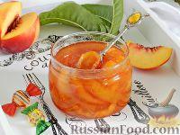 Фото к рецепту: Варенье из нектаринов с апельсином