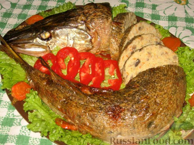 Фаршированная щука с овощами пошаговый рецепт 50