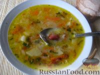 Фото приготовления рецепта: Крестьянский фасолевый суп - шаг №12