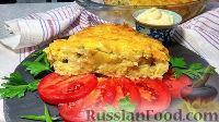Фото к рецепту: Овощная запеканка из картофеля и цветной капусты