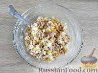 """Фото приготовления рецепта: Салат """"Ёжик"""" - шаг №7"""