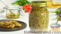Фото к рецепту: Маринованные баклажаны в масле,по-итальянски