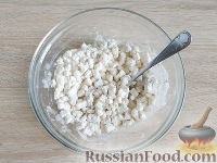 Фото приготовления рецепта: Оладьи из груш и бананов - шаг №4