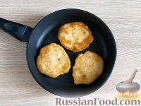 Фото приготовления рецепта: Оладьи из груш и бананов - шаг №8