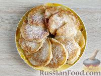 Фото приготовления рецепта: Оладьи из груш и бананов - шаг №9