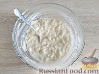 Фото приготовления рецепта: Оладьи из груш и бананов - шаг №6