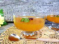 Фото к рецепту: Желе из персиков