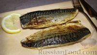 Фото к рецепту: Скумбрия, запечённая в духовке