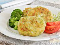Фото к рецепту: Картофельные котлеты с брокколи