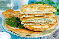 Фото к рецепту: Жареные пирожки с картошкой и укропом