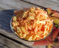 Фото к рецепту: Морковный салат с ананасами