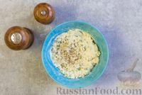 Фото приготовления рецепта: Рулетики из болгарского перца с сырной начинкой - шаг №8