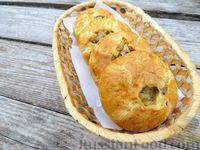 Фото к рецепту: Мини-пироги из бездрожжевого теста, с мясом и картошкой