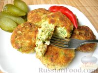 Фото к рецепту: Котлеты без мяса (из картофеля и яиц)
