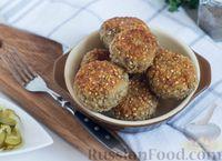 Фото к рецепту: Котлеты из гречки и картофеля