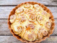 Фото к рецепту: Домашние апельсиновые булочки